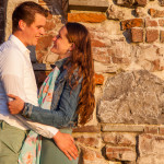 Loveshoot  Anneke en Sander bij Villa Augustus
