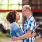 Loveshoot Ben en Nadiah op de boerderij