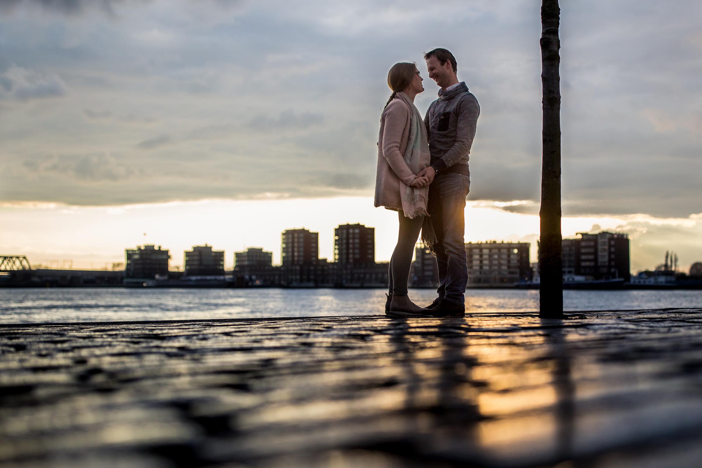 Cees en Helena loveshoot Dordrecht