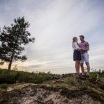 Hendrik en Alise | Loveshoot op de heide | Leusden
