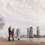 Rotterdamse preweddingshoot Danny en Ellemieke