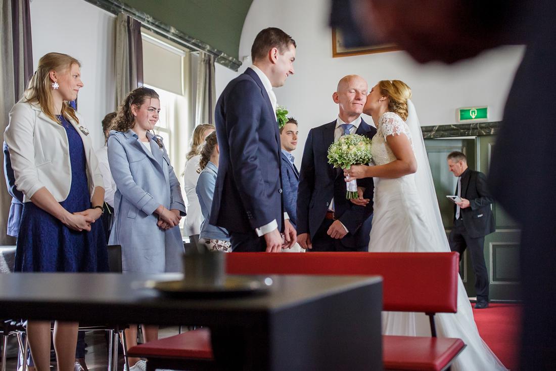 Bruidspaar te Leerdam